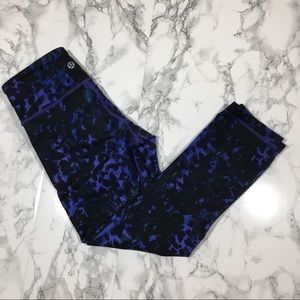 Lululemon Wonder Under Crop Leggings 2